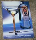 1997 print ad - Bombay Sapphire Gin Michael Graves martini 1-PAGE ADVERTISING