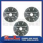 3x Diamond Coated Multi Cutter Saw Blade 105mm Angle Grinders Cuts Everything