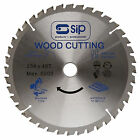 SIP 06184 CIRCULAR TCT SAW BLADE 254mm x 25.4mm (40T) FOR 01332