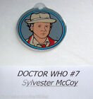 DOCTOR WHO By BALLY 1992 ORIGINAL NOS PINBALL MACHINE PLASTIC KEYCHAIN #7 DOCTOR