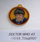 DOCTOR WHO By BALLY 1992 ORIGINAL NOS PINBALL MACHINE PLASTIC KEYCHAIN #2 DOCTOR