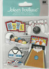 Jolees BOWLING ALLEY 3D Stickers sports