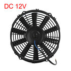 DC 12V 12 Universal Auto Car Radiator A C Engine Cooler Cooling Fan Black