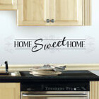 New HOME SWEET HOME WALL DECALS Quote Stickers Inspirational Quotes Decorations