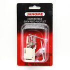 Convertible Even Feed Foot Set For #214516003 Janome High Shank Models