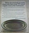 1972 ad page - Franciscan MADEIRA Dinnerware Earthenware Vintage PRINT ADVERT