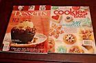 2 Cookbooks Cookies  Bars and Desserts from Americas Top Chefs