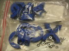 """qty 2 bags - Split Retainer Ring 1"""" Round 2 Piece, 95PA6RD10INCHB4  PA6GF20"""