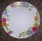6 CORELLE SUMMER BLUSH DINNER PLATES   EUC!!