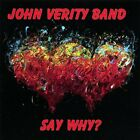 John Verity Band-Say Why?  CD NEW