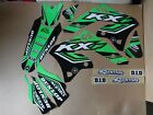 FLU  DESIGNS PTS4 TEAM  KAWASAKI GRAPHICS  KX450F 2006 2007 2008  KX450
