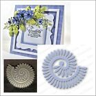 Spiral Daisy metal die Impression Obsession cutting dies DIE071 I rolled flowers