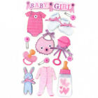 Jolees Boutique Stickers BABY GIRL LARGE 13PC 245