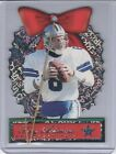 TROY AIKMAN 1999 Pacific Prism * Ultra Rare! * CHRISTMAS ORNAMENT CARD #5