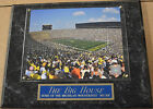 THE BIG HOUSE MICHIGAN WOLVERINES FRAMED 8 X 10 PHOTO PLAQUE SIGN MAN CAVE ART