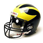 Jake Butt Autographed Michigan Wolverines Full Size Replica Helmet