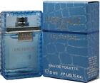 EAU FRAICHE By Versace Man .17 edt MINI splash 5 ML NEW In Box