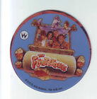 THE FLINTSTONES By WILLIAMS PINBALL MACHINE PROMOTIONAL PLASTIC COASTER WITH CAR