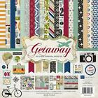 Echo Park GETAWAY Collection Kit 12x12 Scrapbook Travel Vacation Pocket Page