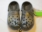 Crocs Classic Realtreextra lined clog chocolate Mens Womens M6 W8 roomy shoes
