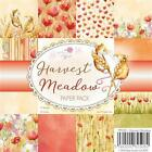 New Wild Rose PAPER PACK SET 6 X 6 HARVEST MEADOW 36 sheet free us ship