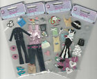 U CHOOSE Forever in Time DIVA GIRL ASSORTED CLOTHES 3D Stickers woman