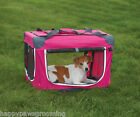 Guardian Gear HEAVY DUTY Collapsible Soft Sided Portable Dog Crate CageXSPINK