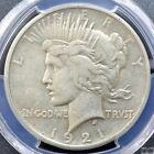 1921 Peace Dollar High Relief PCGS XF40