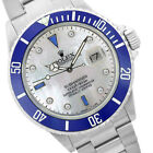 Rolex Men's Submariner Stainless Steel MOP Diamond Dial 40mm - Pre-Owned