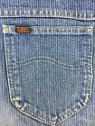 MENS LEE JEANS VINTAGE UNION MADE SIZE 38 X 34 RED TAG USA