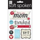 ME  MY BIG IDEAS MAMBI SOFT SPOKEN I LOVE YOU MOM MOTHER 3D SCRAPBOOK STICKERS