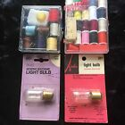 Vintage Sewing Notations Kits Machine Light Bulbs Ardee Sears Original Packaging