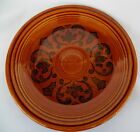 SHEFFIELD AMBERSTONE BREAD PLATE(S) HOMER LAUGHLIN
