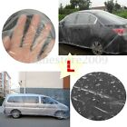 Clear Plastic Temporary Disposable Universal Suv Car Cover Rain Dust Snow Garage