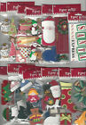 U CHOOSE Assorted Paper Bliss CHRISTMAS  WINTER 3D Stickers santa trees toys