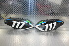 2013 KAWASAKI KX250F LEFT RIGHT REAR BACK SIDE NUMBER PLATE FAIRING COWL COVER
