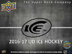 2016 17 Upper Deck Ice Hockey Hobby Box