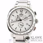 SUG Men's Military Stainless Swiss Chronograph Watch Sapphire Crystal