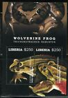 LIBERIA 2017 FROGS SOUVENIR SHEET MINT NH