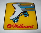 ROLLER GAMES By WILLIAMS ORIGINAL NOS PINBALL MACHINE PLASTIC PROMO ITEM RARE