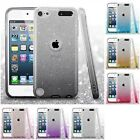 For Apple iPod Touch 5th Gen Glitter Hybrid TPU Gradient Hard Cute Case Cover