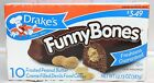 Drake's Funny Bones Frosted Peanut Butter Creme Filled Devils Food Cakes Drakes