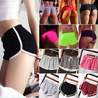 Womens Sports Shorts Trousers Athletic Gym Yoga Workout Fitness Summer Hot Pants