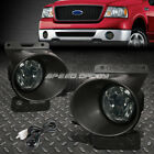 FOR 06-08 FORD F150/MARK LT SMOKED LENS OE BUMPER FOG LIGHT LAMP PAIR+SWITCH KIT