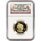 2011 W US First Spouse Gold 1 2 oz Proof 10 Lucy Hayes NGC PF69 UCAM
