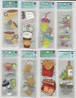 U CHOOSE Assorted Jolees by You FOOD  DRINK 2X4 1 2 small 3D Stickers coffee
