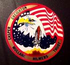 NASA Space Shuttle Mission STS 36 Atlantis Crew Patch Design Sticker Decal