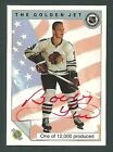 Bobby Hull Chicago Blackhawks 1992 Ultimate The Golden Jet Auto Card w Holo