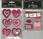 U CHOOSE Assorted La Petites VALENTINE 3D Stickers love