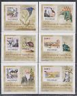 B Mozambique MNH Nature Dinosaurs Charles Darwin Hard Paper Deluxe